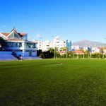 Astroturf Sports Area With Dining Hall